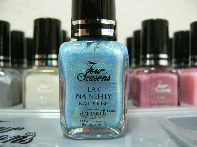 Four Seasons Lak na nehty FS odstín 29 perleťový lak s matovým povrchem 14 ml | Laky na nehty - Laky na nehty Cedro - Four Seasons