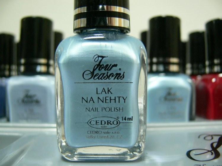 Four Seasons Lak na nehty FS odstín 49 perleťový lak 14 ml | Laky na nehty - Laky na nehty Cedro - Four Seasons