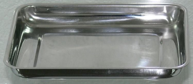 Miska na nástroje, tácek, nerez 21x16x2,5 cm | NEHTOVÁ MODELÁŽ - Nerezové výrobky pro pedikúru