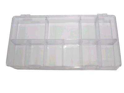 Box na tipy prázdný 100 ks | Nehtové tipy pro nehtovou modeláž - Příslušenství k tipům