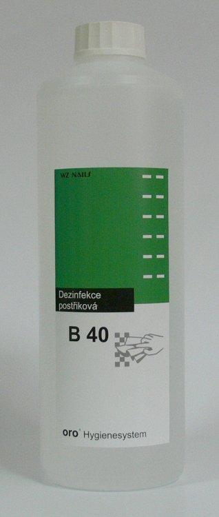 Dezinfekce postřiková na plochy a nástroje B40 náhradní náplň 0,5 litru | NEHTOVÁ MODELÁŽ - Dezinfekce a hygiena - Dezinfekce na nástroje a plochy