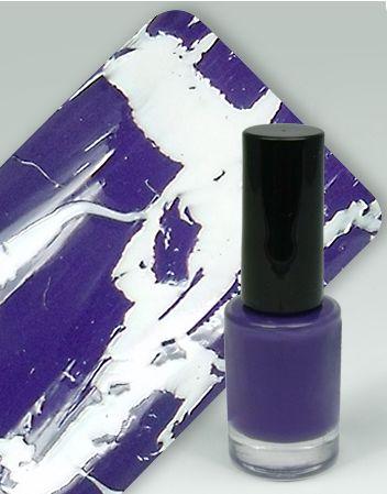 WZ nails Cracle Polish - praskající lak lila 5 ml | Laky na nehty - Praskající laky na nehty