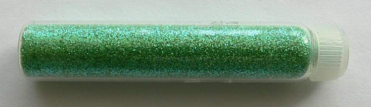 Glitterový prášek na zdobení nehtů zelený | NEHTOVÁ MODELÁŽ - Nail Art, zdobící materiály - Glitter na zdobení nehtů