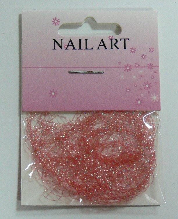 Zdobící nitě oranžové | NEHTOVÁ MODELÁŽ - Nail Art, zdobící materiály - Zdobení nehtů - ostatní