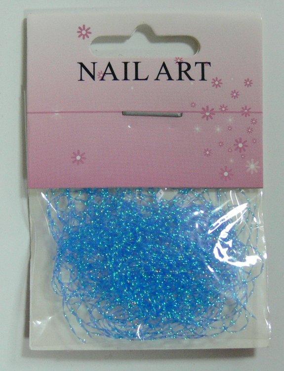 Zdobící nitě modré | NEHTOVÁ MODELÁŽ - Nail Art, zdobící materiály - Zdobení nehtů - ostatní