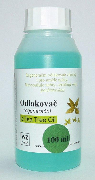 Odlakovač na nehty s Tea Tree Oil 100 ml | NEHTOVÁ MODELÁŽ - Odlakovače