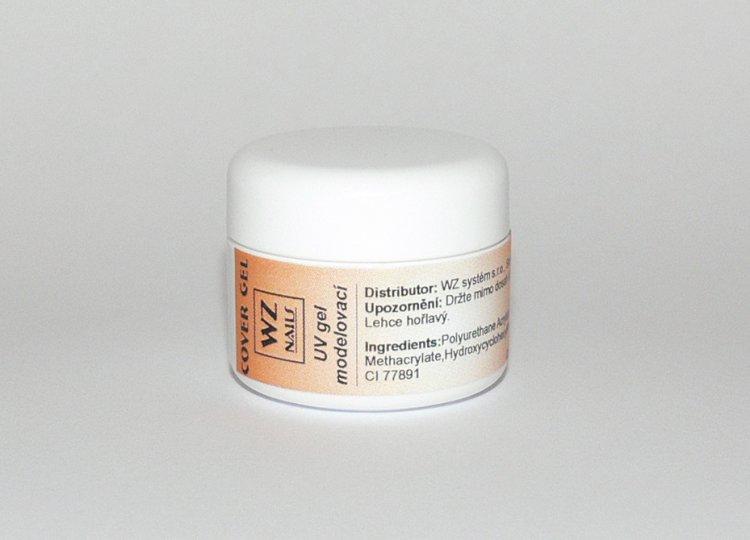 UV gel modelovací kamufláž Cover gel  5 ml | NEHTOVÁ MODELÁŽ - UV gely  - UV gely WZ NAILS